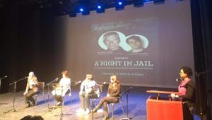 A Night In Jail Panel discussion