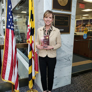 Heidi Swan Visiting Senators in Washington D.C.