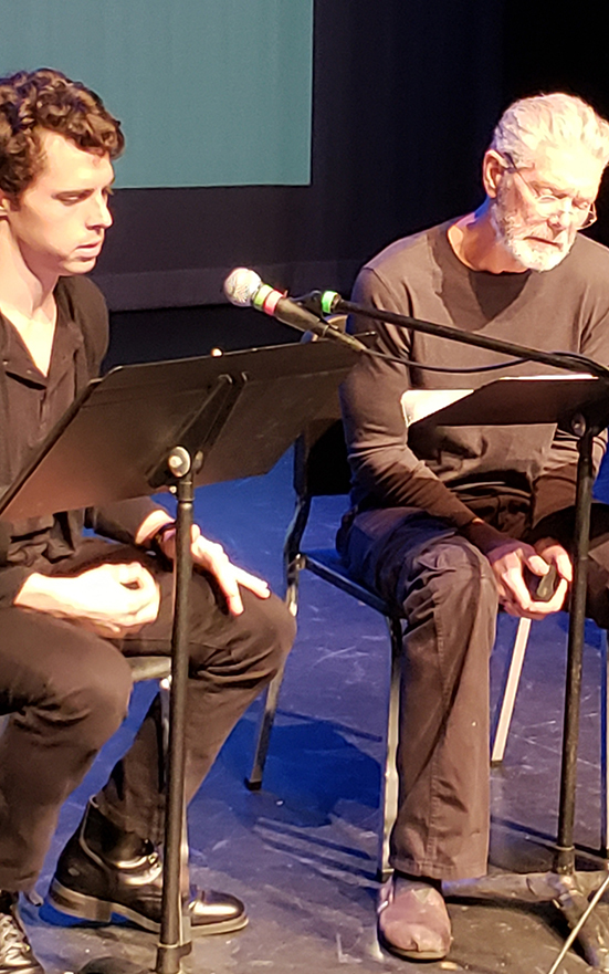 Jamie Landau and Stephen Lang